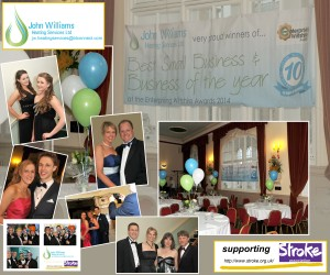 An amazing £2750 raised at our 10th anniversary ball!